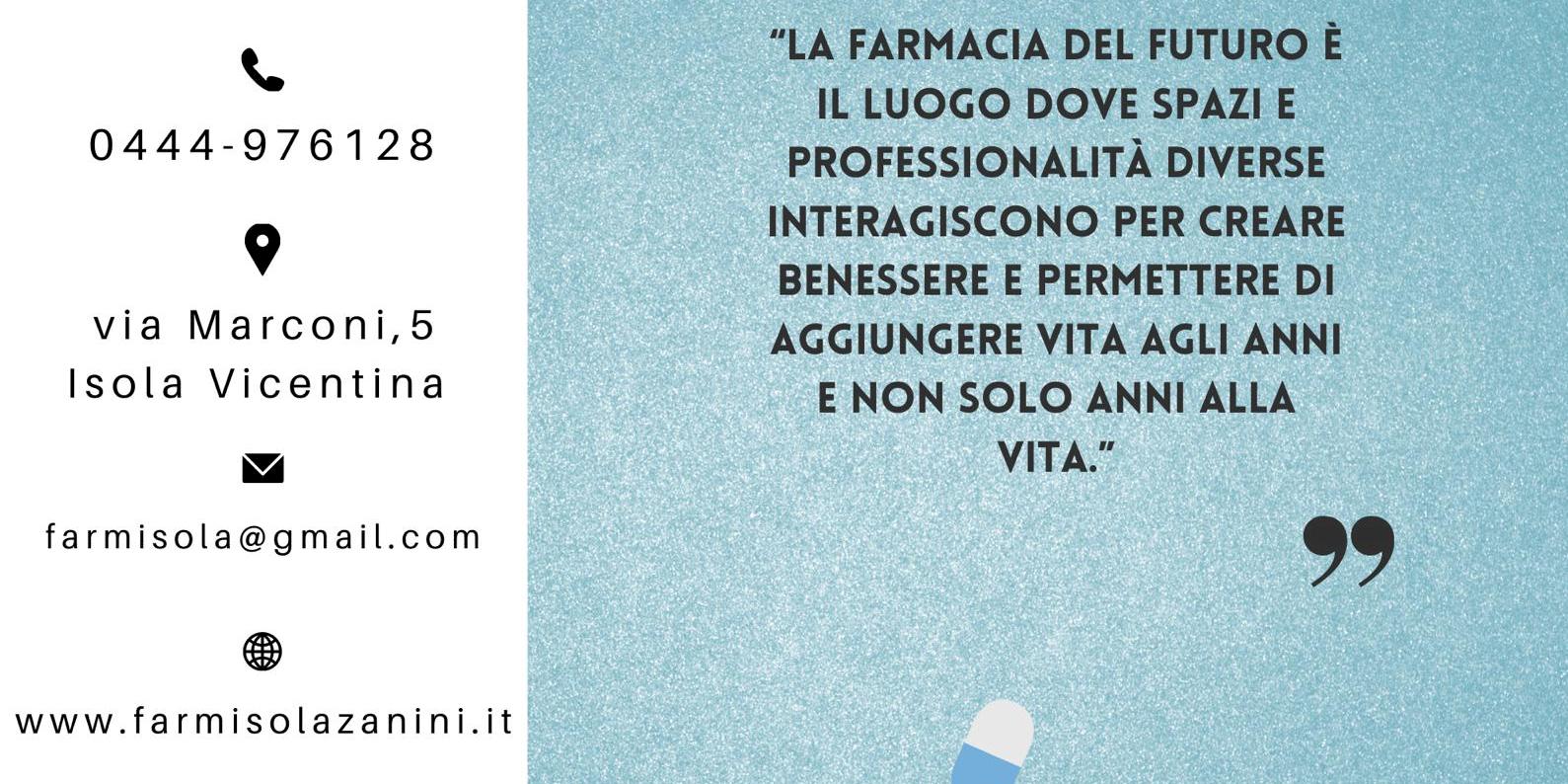 header image Farmacia Madonna dell\'Aiuto Dottori Zanini