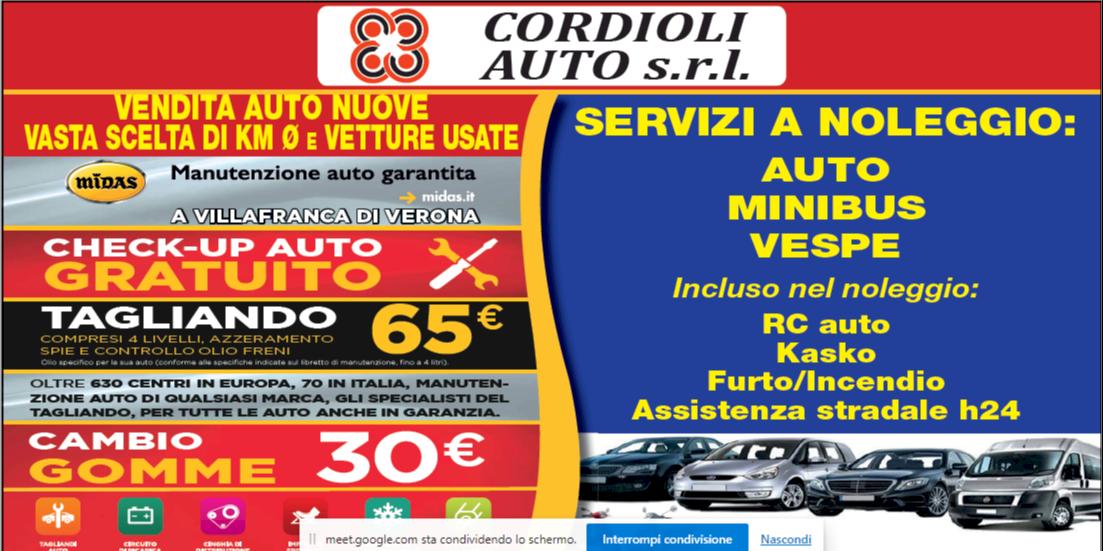 header image CORDIOLI AUTO SRL
